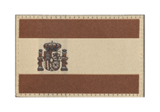 Spain-Flag-Patch-Desert-Clawgear