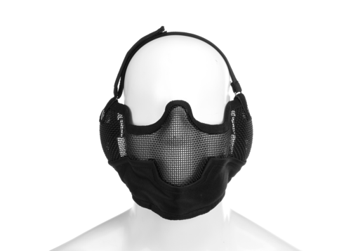 Steel Face Mask Black