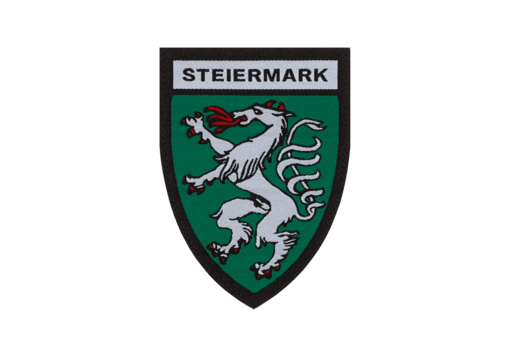 Steiermark Shield Patch Color