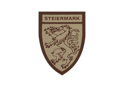 Steiermark Shield Patch Desert