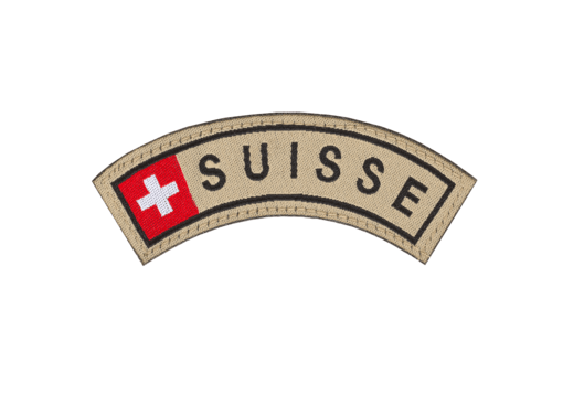 Suisse Small Tab Patch Color