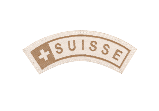 Suisse Small Tab Patch Desert