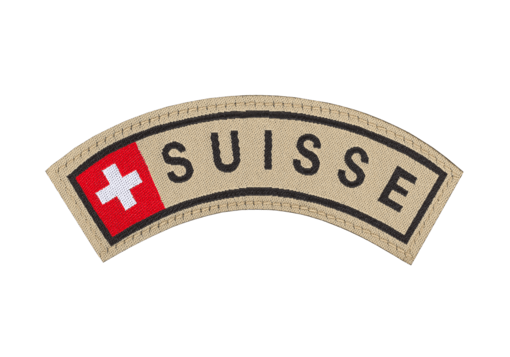 Suisse Tab Patch Color