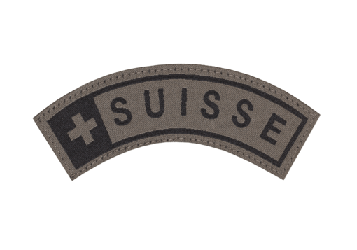Suisse Tab Patch RAL7013