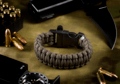 Survival Bracelet Gun Grey