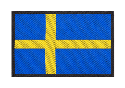 Sweden Flag Patch Color
