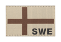 Sweden Flag Patch Desert