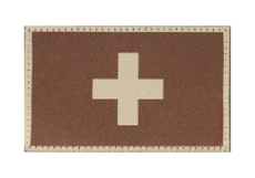 Switzerland-Flag-Patch-Desert-Clawgear