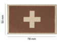 Switzerland Flag Patch Desert