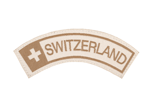 Switzerland Tab Patch Desert