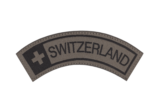 Switzerland Tab Patch RAL7013