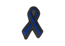Thin-Blue-Line-Ribbon-Rubber-Patch-Color-JTG