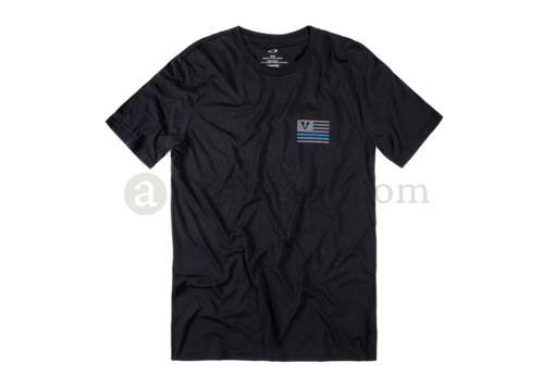 Thin Blue Line Tee Blackout (Oakley) M