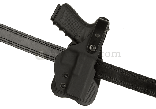 Thumb-Break Kydex Holster für Glock 19 Paddle Black (Frontline)