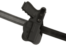 Thumb-Break-Kydex-Holster-pour-Glock-19-Paddle-Black-Frontline