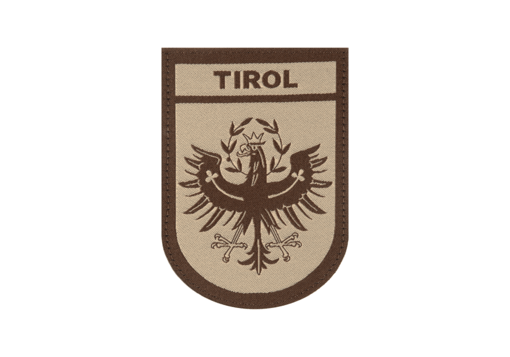 Tirol Shield Patch Desert