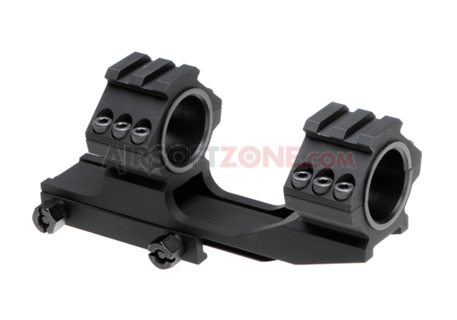 Top Rail 25.4mm / 30mm Mount Base Black (Aim-O)