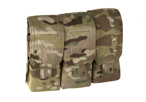 Triple Covered Mag Pouch M4 5.56mm Multicam (Warrior)