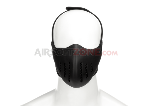 Trooper Half Face Mask Black (Pirate Arms)