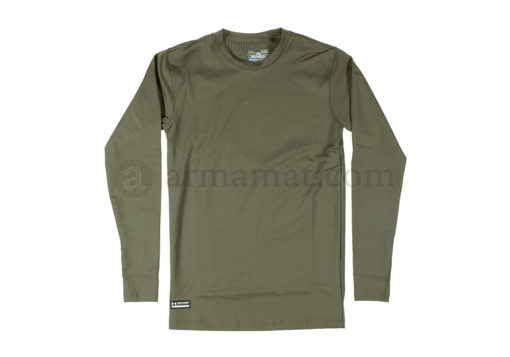 UA ColdGear Infrared Tactical Fitted Crew OD (Under Armour) L