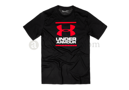 UA GL Foundation Tee Black (Under Armour) S