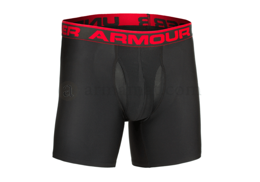 UA Original 6 Inch Boxerjock HeatGear Black (Under Armour) M