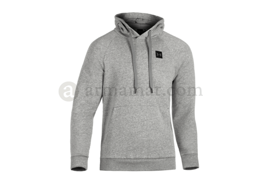 UA Rival Fleece Hoodie Steel Light Heather (Under Armour) M