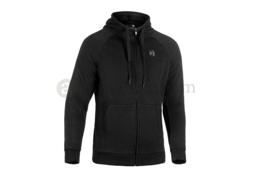 UA Rival Fleece Zip Hoodie Black (Under Armour) S