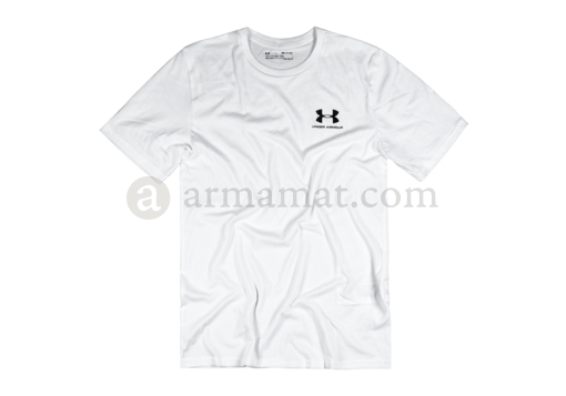 UA Sportstyle Left Chest Tee White (Under Armour) XXL