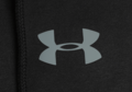 UA Storm Rival Fleece Zip Hoodie Black (Under Armour) S