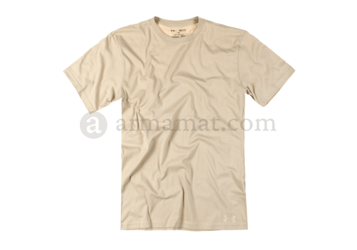 UA Tactical HeatGear Charged Cotton Tee Beige (Under Armour) M