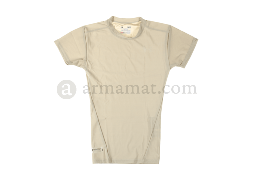 UA Tactical HeatGear Compression Tee Beige (Under Armour) S