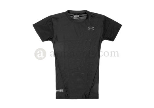 UA Tactical HeatGear Compression Tee Black (Under Armour) S