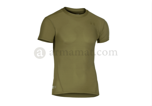 UA Tactical HeatGear Compression Tee OD (Under Armour) XL