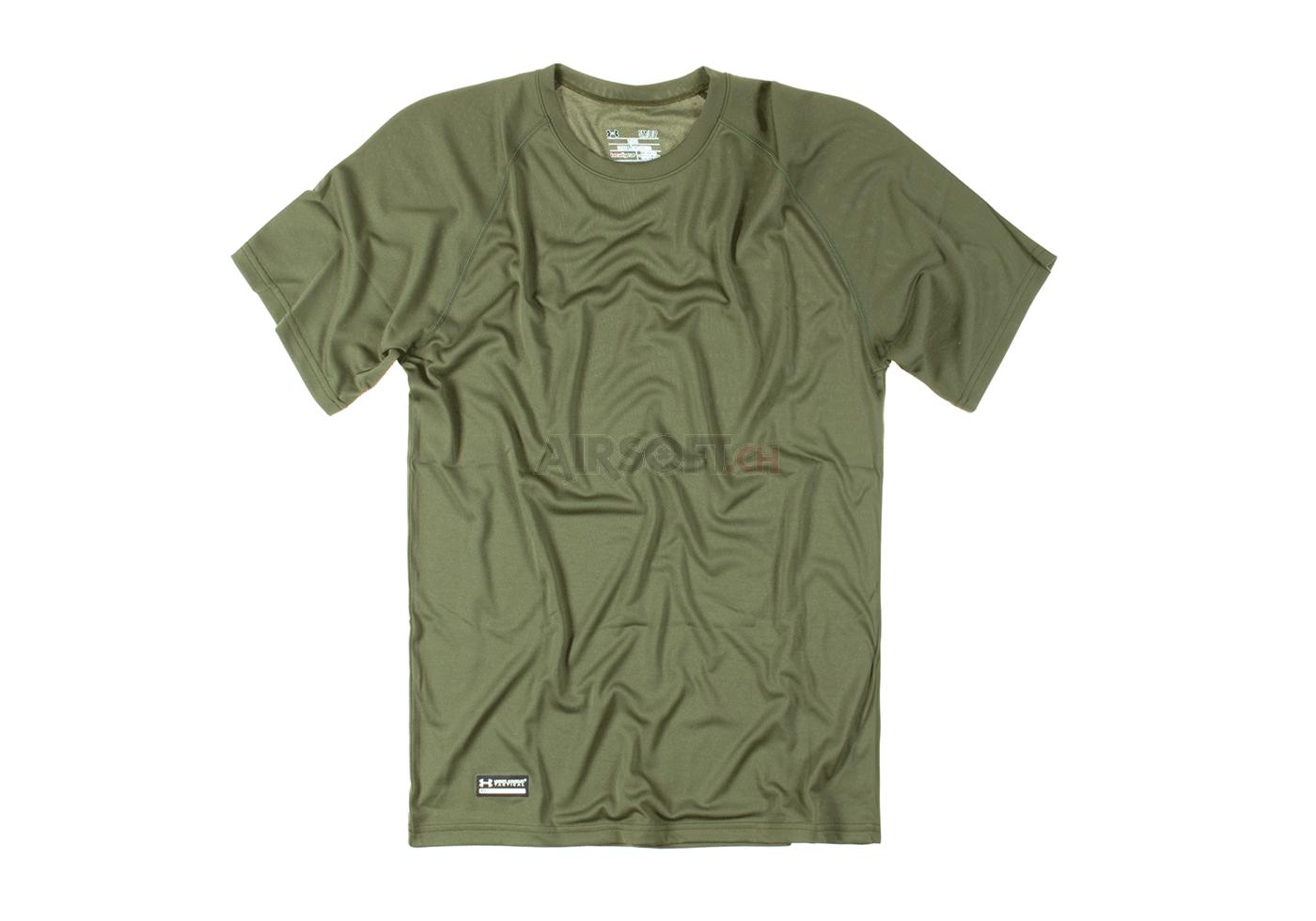 74c7bcccfeaf UA Tactical Tech Tee OD (Under Armour) M - T-Shirts - Shirts ...