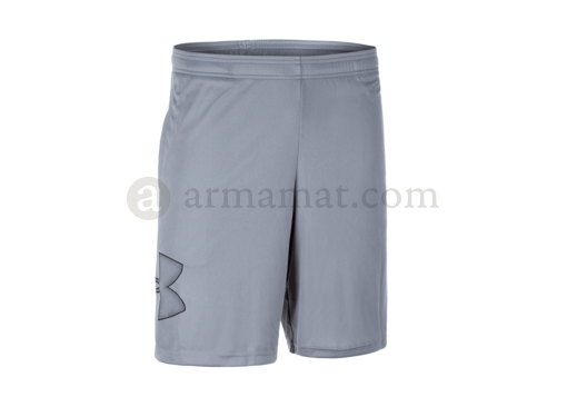 UA Tech Graphic Short 10 Inch Steel (Under Armour) S