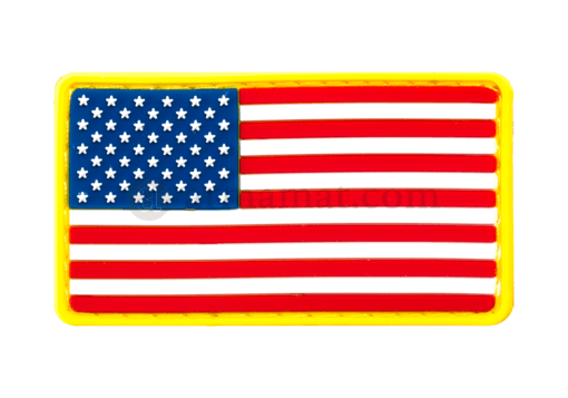 US Flag Rubber Patch Color (JTG)
