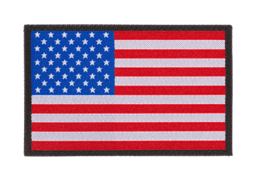 USA Flag Patch Color