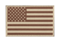 USA Flag Patch Desert