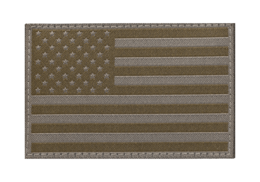 USA Flag Patch RAL7013