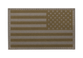 USA Reversed Flag Patch RAL7013