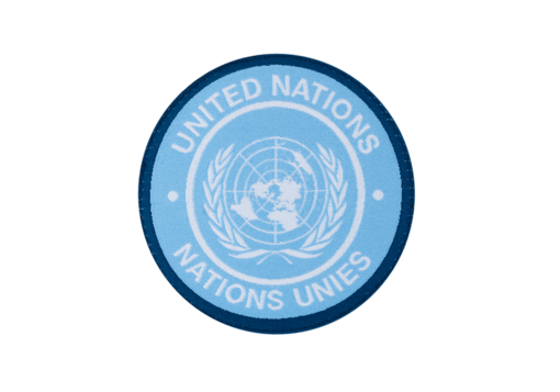 United Nations Patch Round Color