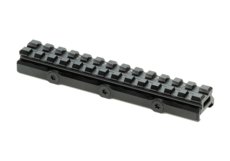 Universal-Super-Slim-Riser-Mount-13-Slot-0.50'-Black-Leapers