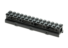 Universal-Super-Slim-Riser-Mount-13-Slot-0.75'-Black-Leapers