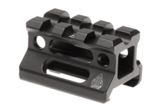 Universal-Super-Slim-Riser-Mount-3-Slot-0.75'-Black-Leapers
