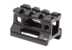 Universal-Super-Slim-Riser-Mount-3-Slot-0.83'-Black-Leapers