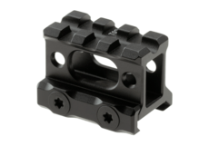 Universal-Super-Slim-Riser-Mount-3-Slot-1.00'-Black-Leapers