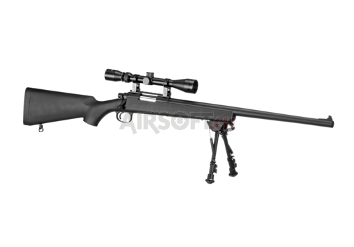 VSR-10 Bolt-Action Sniper Rifle Set Black (Snow Wolf)