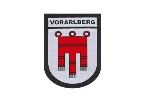 Vorarlberg Shield Patch Color