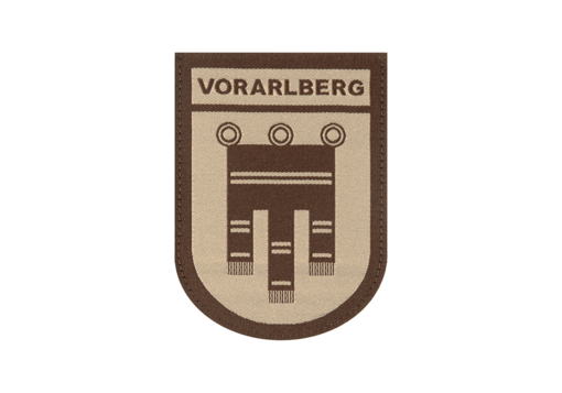 Vorarlberg Shield Patch Desert
